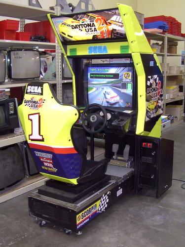 borne arcade voiture
